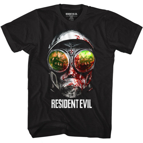 Imge for Resident Evil T-Shirt - Gasmask