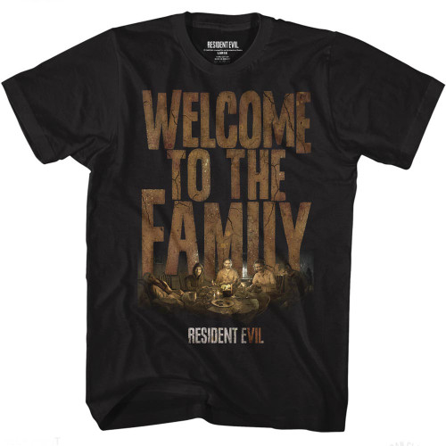 Image for Resident Evil T-Shirt - Welcome to the Family