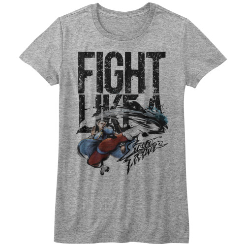 Image for Street Fighter Girls T-Shirt - FIght Like a Girl