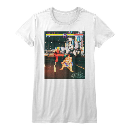 Image for Street Fighter Girls T-Shirt - Real Street Fighter