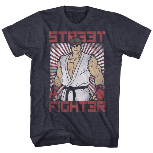 Image for Street Fighter T-Shirt - Block Print