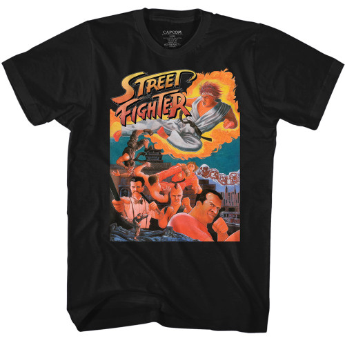 Image for Street Fighter T-Shirt - Awesome