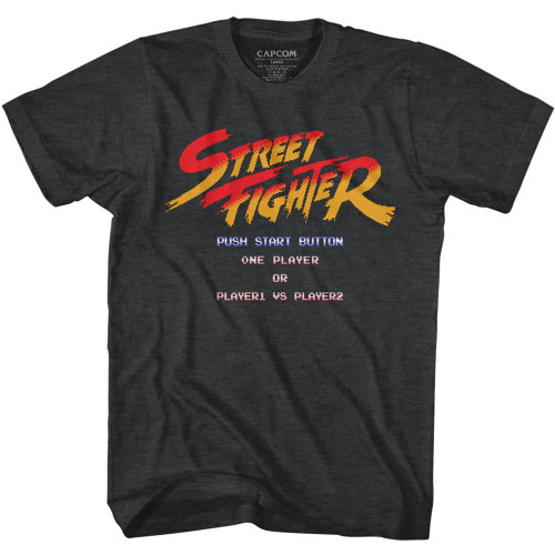 Image for Street Fighter T-Shirt - Start Screen
