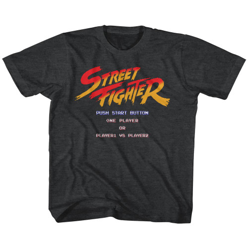 Image for Street Fighter Start Screen Youth T-Shirt
