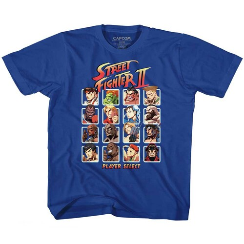 Image for Street Fighter Super Turbo HD Select Toddler T-Shirt