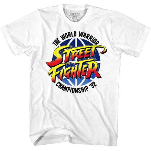 Image for Street Fighter T-Shirt - World Warrior