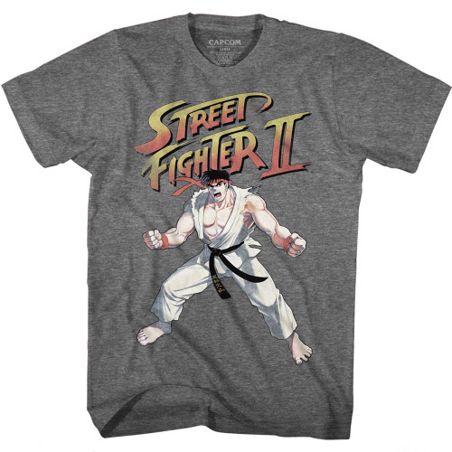 Image for Street Fighter T-Shirt - Ryu Pose