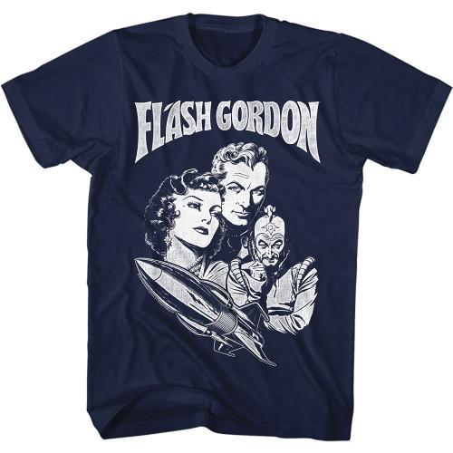 Flash Gordon Sugo Adult T-Shirt Tee