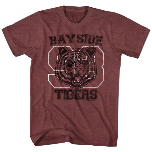 Image for Saved by the Bell T-Shirt - Bayside Tigers '93