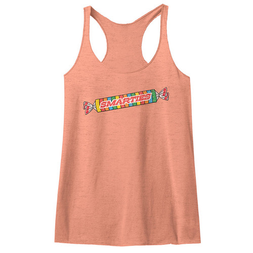 Image for Smarties Juniors Heather Tank Top - Logo