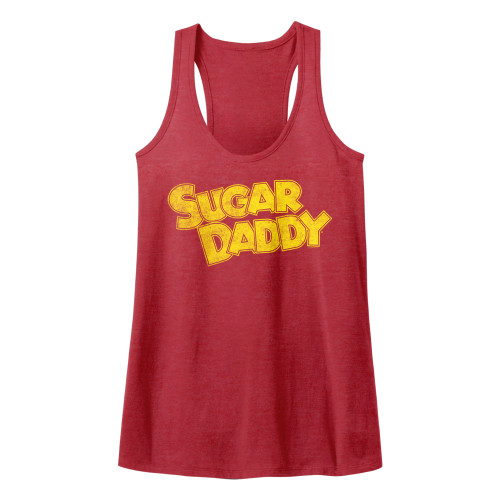 Image for Tootsie Roll Juniors Heather Tank Top - Yellow Sugar Daddy