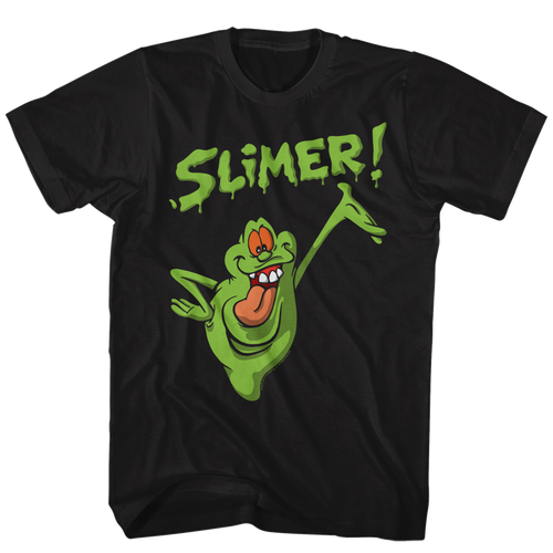 Image for The Real Ghostbusters T-Shirt - Slimer!
