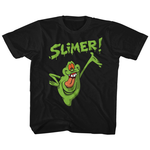 Image for The Real Ghostbusters Slimer! Youth T-Shirt