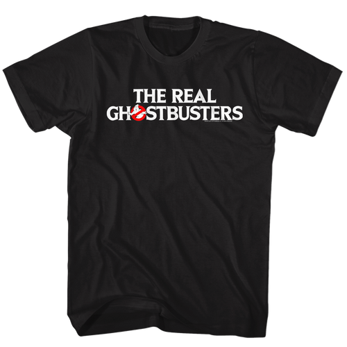 Image for The Real Ghostbusters T-Shirt - Logo