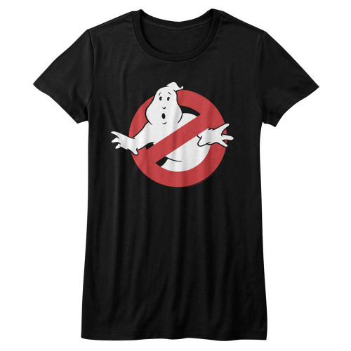 Image for The Real Ghostbusters Girls T-Shirt - Symbol