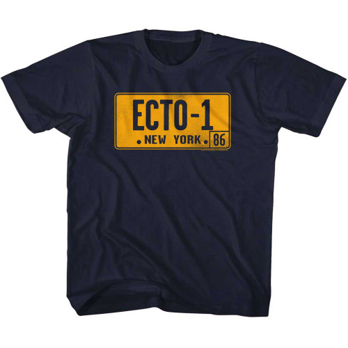 Image for The Real Ghostbusters ECTO-1 Plate Toddler T-Shirt