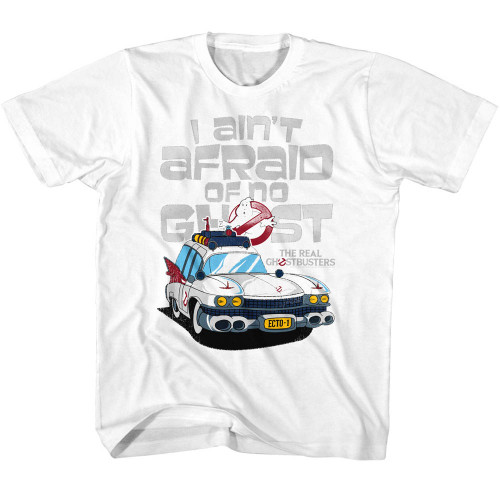 Image for The Real Ghostbusters I Ain't Afraid of No Ghost Toddler T-Shirt
