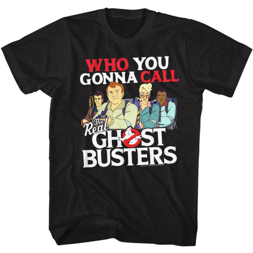 Image for The Real Ghostbusters T-Shirt - Who You Gonna Call?