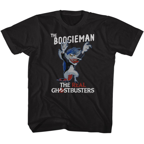 Image for The Real Ghostbusters the Boogieman Youth T-Shirt