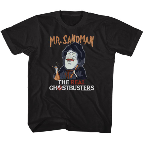 Image for The Real Ghostbusters Mr. Sandman Youth T-Shirt