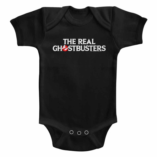 Image for The Real Ghostbusters Logo Infant Baby Creeper