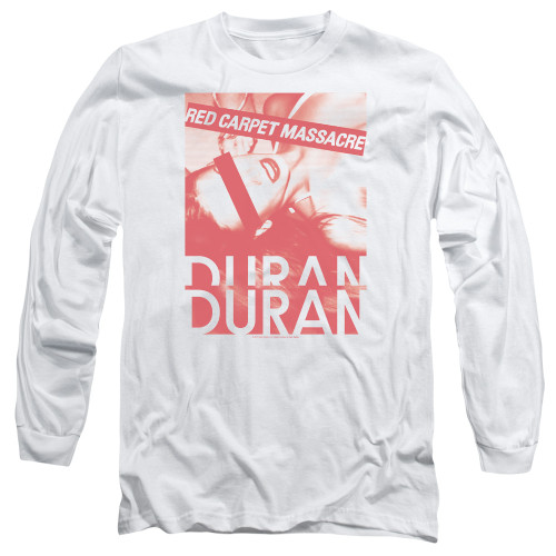 Image for Duran Duran Long Sleeve T-Shirt - Red Carpet Massacre