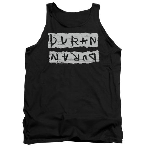 Image for Duran Duran Tank Top - Print Error