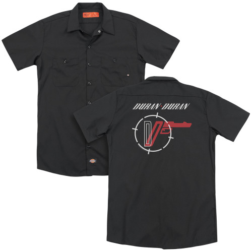 Image for Duran Duran Dickies Work Shirt - A View to a Kill
