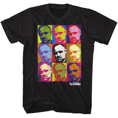 Image for Godfather T-Shirt - Warhol-esque
