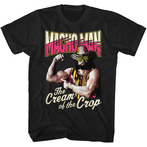 Image for Macho Man T-Shirt - Cream of the Crop