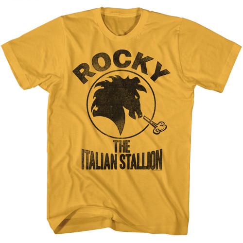 Image for Rocky T-Shirt - Classic Italian Stallion Logo