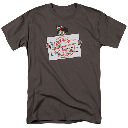 Image for Where's Waldo T-Shirt - Witness Protection