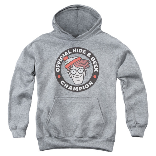 Image for Where's Waldo Youth Hoodie - Champion