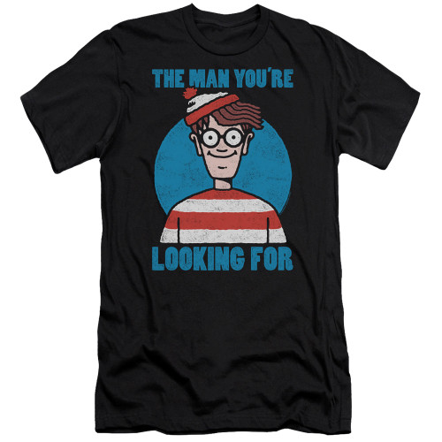 Image for Where's Waldo Premium Canvas Premium Shirt - Looking for Me