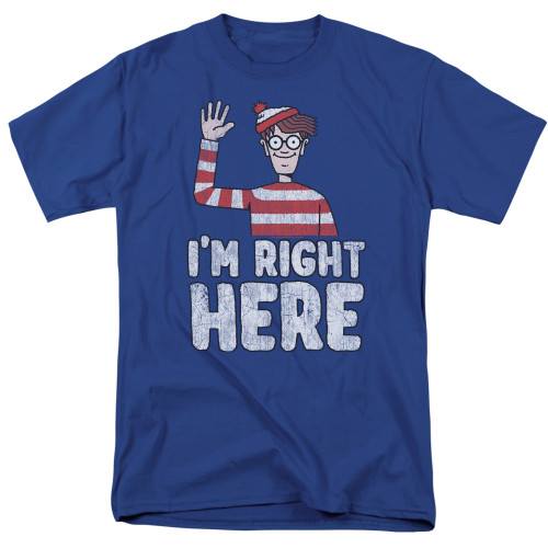 Image for Where's Waldo T-Shirt - I'm Right Here