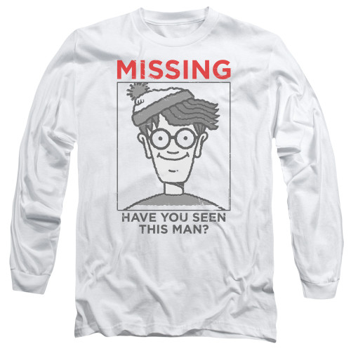 Image for Where's Waldo Long Sleeve Shirt - Missiong