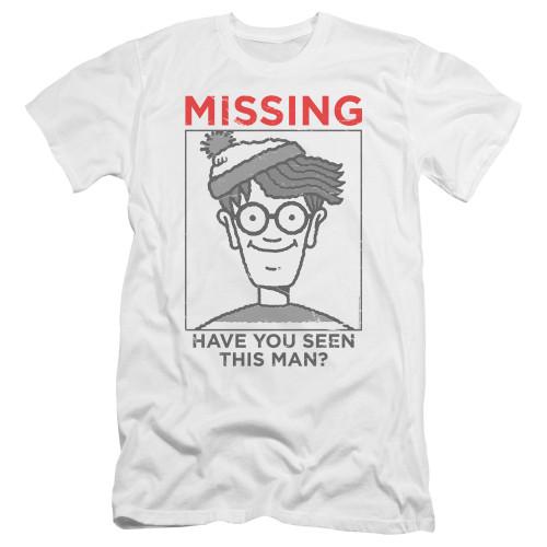 Image for Where's Waldo Premium Canvas Premium Shirt - Missiong