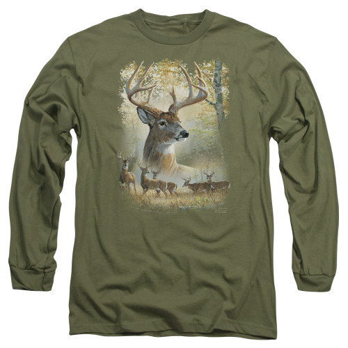 Image for Wild Wings Collection Long Sleeve Shirt - Bucks