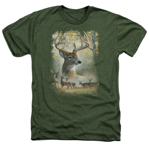 Image for Wild Wings Collection Heather T-Shirt - Bucks