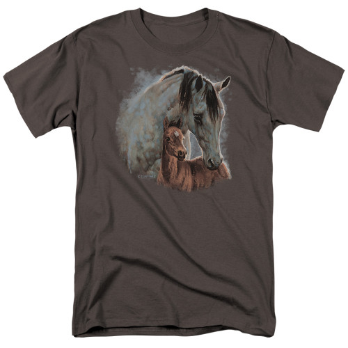 Image for Wild Wings Collection T-Shirt - Painted Horses