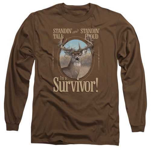 Image for Wild Wings Collection Long Sleeve Shirt - Survivor
