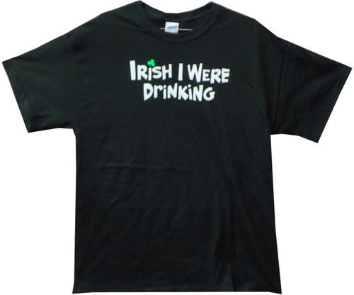 Image for Irish I Were Drinking T-Shirt