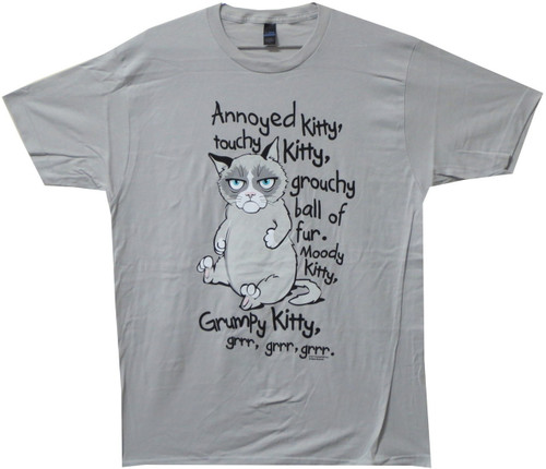 Image for Angry Kitty T-Shirt