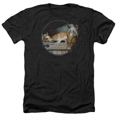 Image for Wild Wings Collection Heather T-Shirt - Everyone Loves Kitty