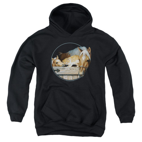 Image for Wild Wings Collection Youth Hoodie - Everyone Loves Kitty