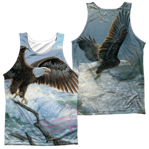 Image for Wild Wings Collection Sublimated Tank Top - American Eagle