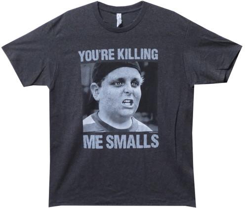 Image Closeup for The Sandlot You're Killing Me Smalls T-Shirt