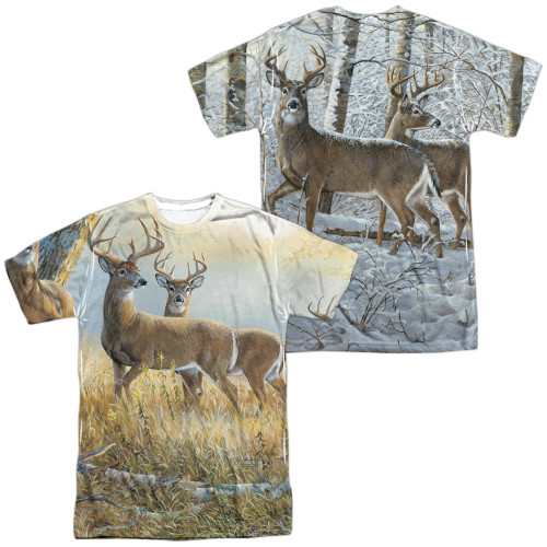 Image for Wild Wings Collection Sublimated T-Shirt - Warm and Cold 100% polyester