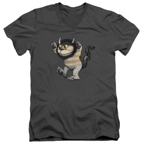 Image for Where the Wild Things Are V Neck T-Shirt - Carol