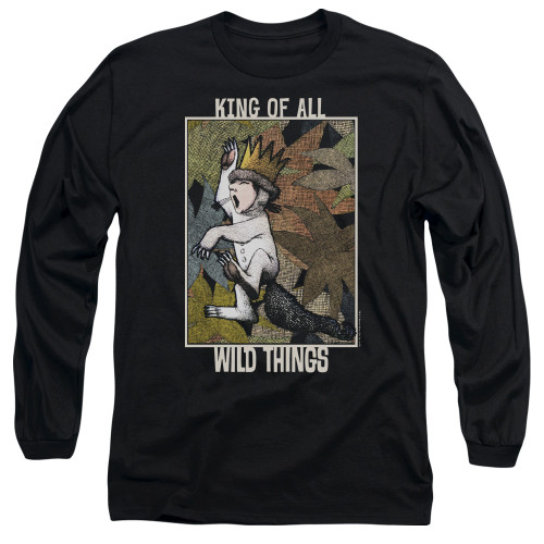 Image for Where the Wild Things Are Long Sleeve Shirt - King of All Wild Things